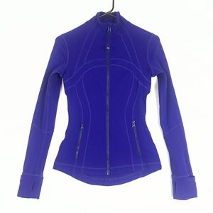 Lululemon define jacket royal blue